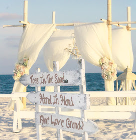 THE SHABBY CHIC BEACH WEDDING<br><br>