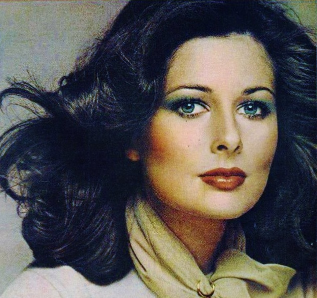 Retro 70S Cristina Ferrare 1970S Fashion Beautiful - Cristina Ferrare Hairstyle