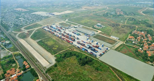 Dry port in operation