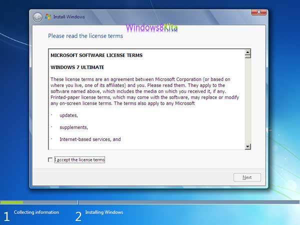 Panduan Cara Instal Windows 7 step 5