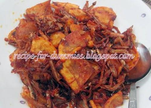 All Recipes for Dummies: Tempe Goreng Berlada