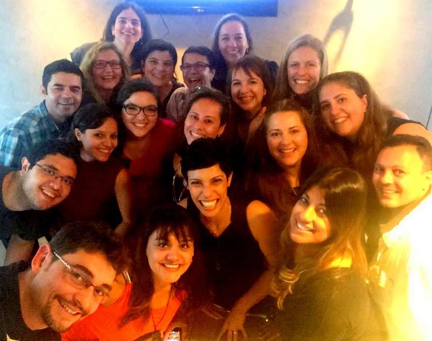 Blogueiros em Barcelona