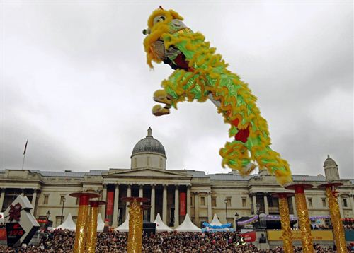 Famous Chinese New Year Celebrations In London