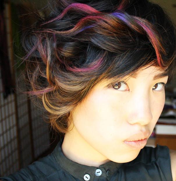 vintage danielle chalk hair