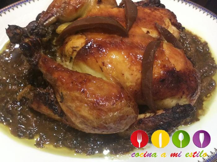 cocina a mi estilo: Pollo moruno con limón confitado