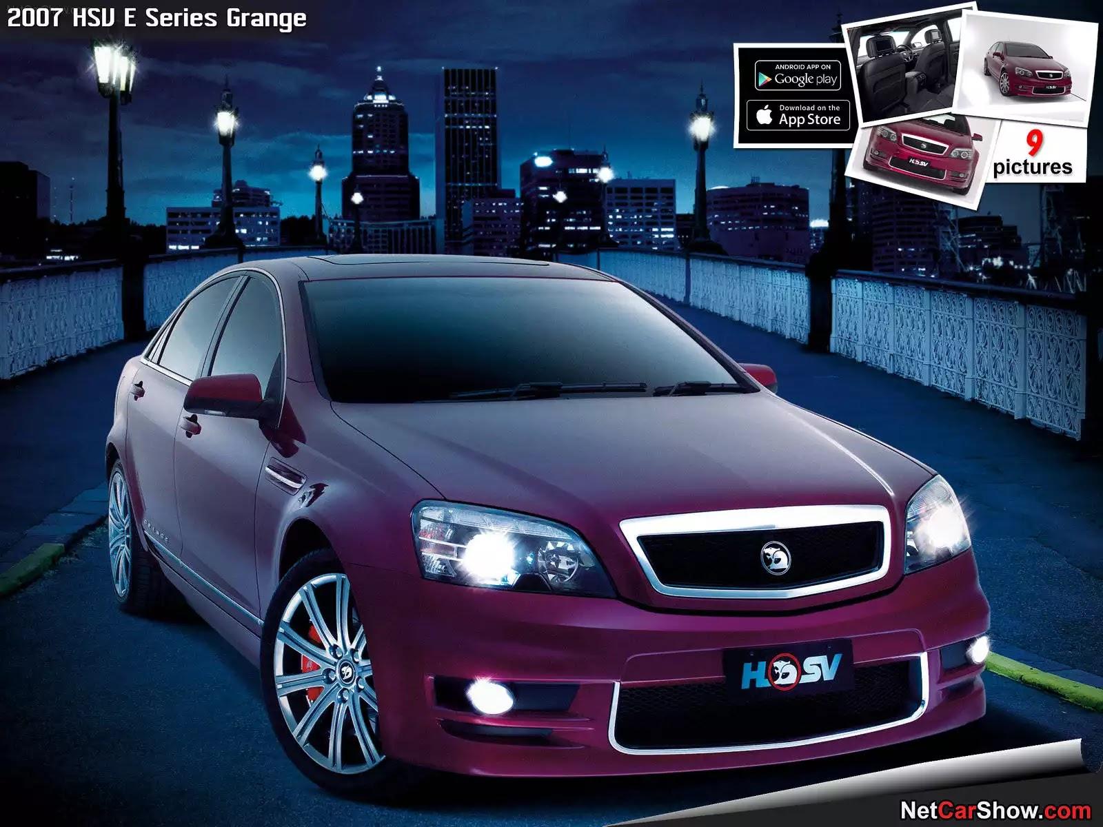 Hình ảnh xe ô tô HSV E Series Grange 2007 & nội ngoại thất