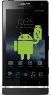 sony xperia s,p and u usb mass storage mode