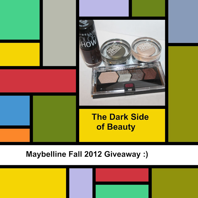 The Dark Side of Beauty: Maybelline Fall Giveaway