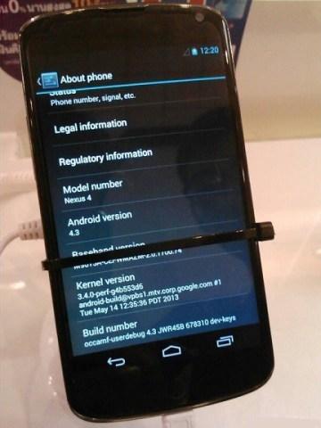 La versione 4.3 di android si basa sul kernel 3.4