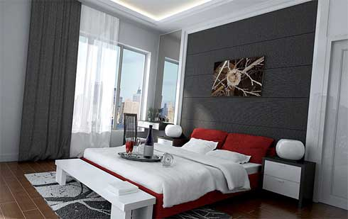 Simple Modern Bedroom Decorating Ideas Interior Design News