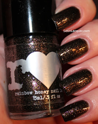Rainbow Honey Oni nail polish