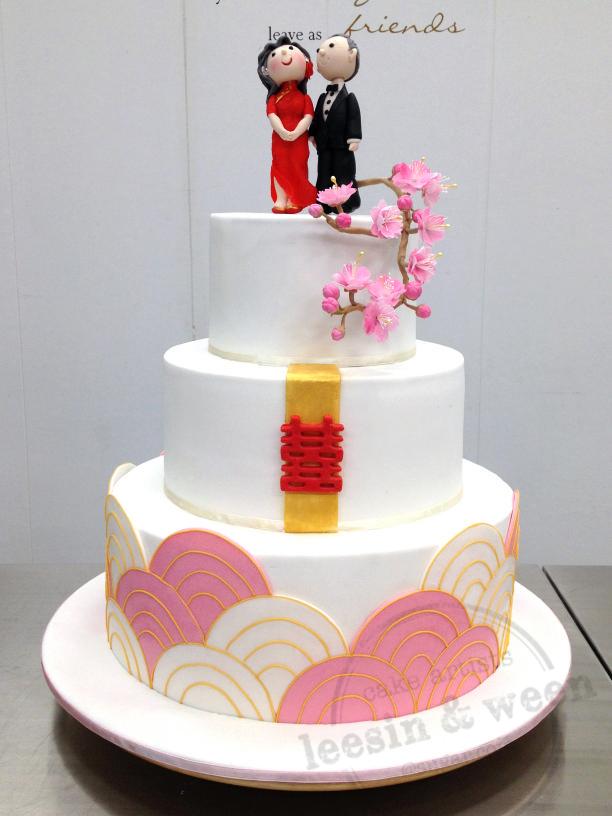 Penang Wedding Cakes by Leesin: 50th Wedding Anniversary Cake