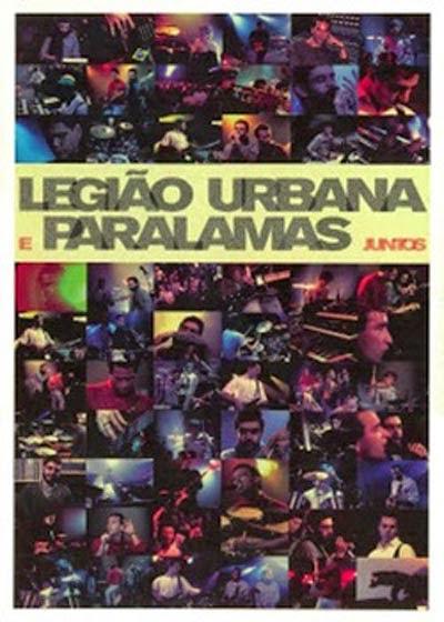 DVD Legião Urbana e Paralamas Juntos