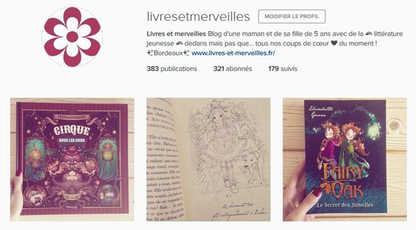 Livres et merveilles sur Instagram - Mois de juillet