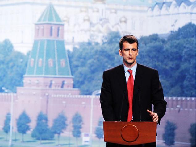 Фото: Михаил Прохоров к теме про русских миллиардеров
