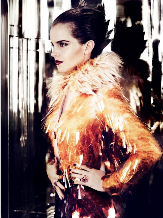 emma watson vogue 2011 shoot. girlfriend hot Emma Watson
