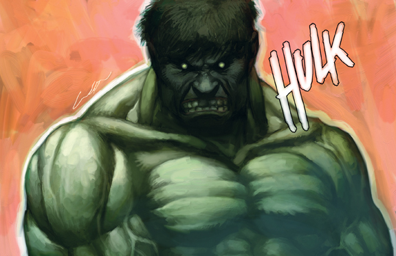the incredible hulk por cuson