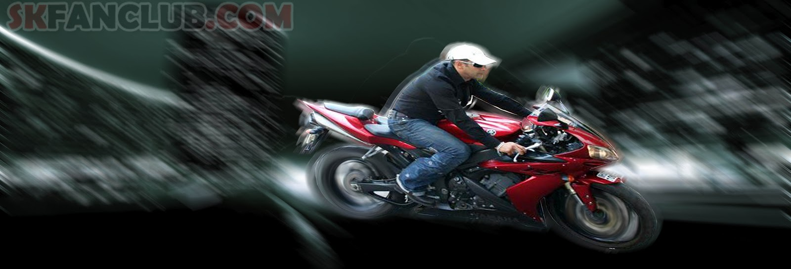 Salman Khan on Bike