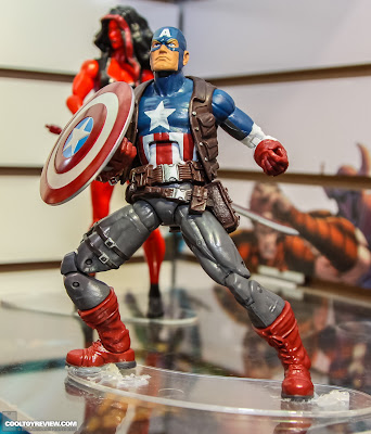 Hasbro 2013 Toy Fair Display Pictures - Marvel Legends - Ultimates Captain America