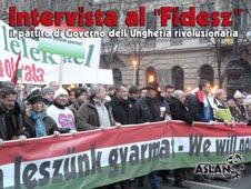 Intervista al Fidesz - Ungheria