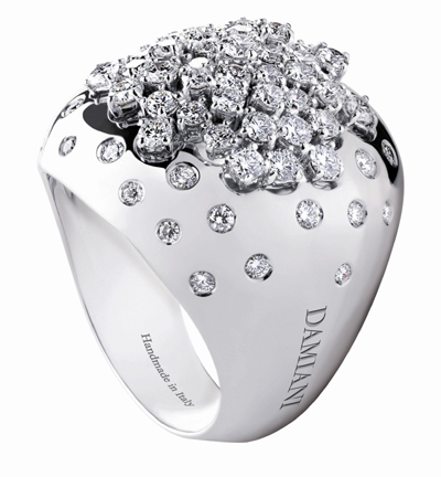 Damiani's New Rings Showcase its Color Pallet and Design Breadth
