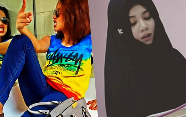 SAH PELUK ISLAM!!! Stacy Kini Pilih Islam Sebagai Agama Rasmi