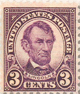 lincoln 3 cent stamp