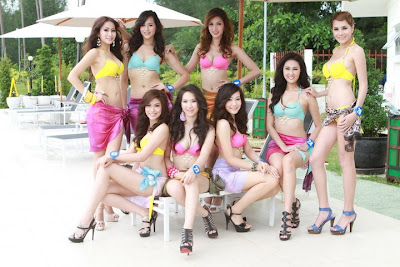 Miss Thailand World 2011: Swimsuit presentations