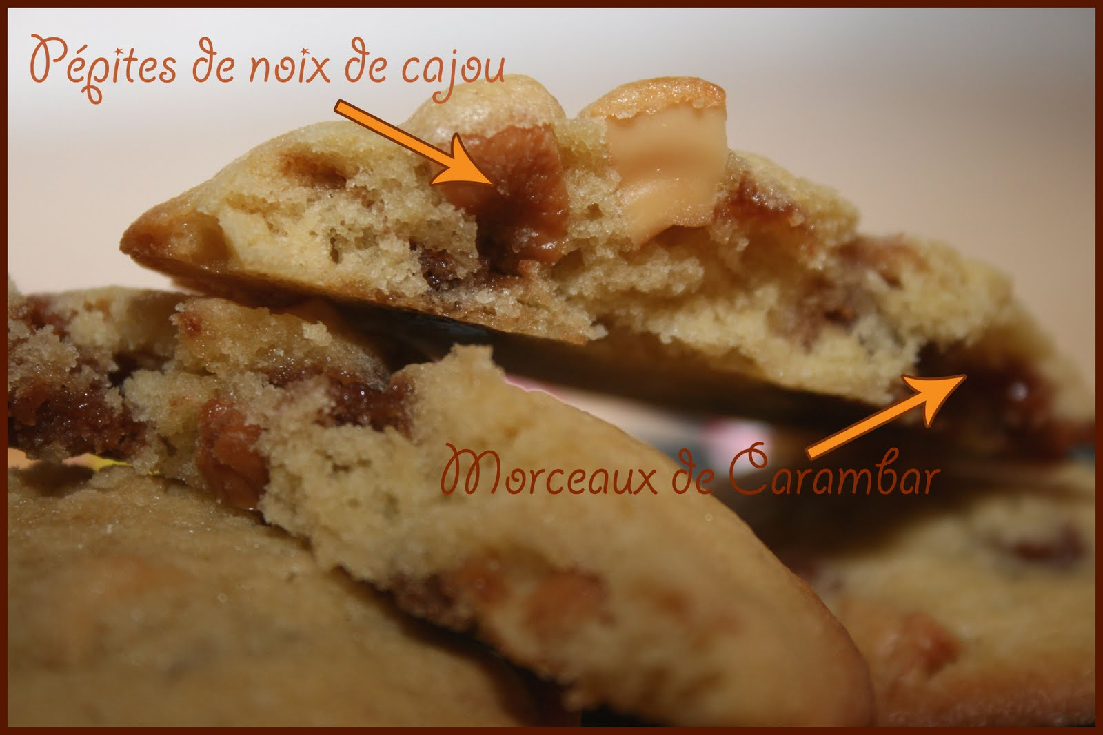 croquez craquez cookies carambar noix de cajou. Black Bedroom Furniture Sets. Home Design Ideas