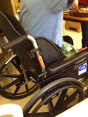 Papas New Very Comfy Wheelchair