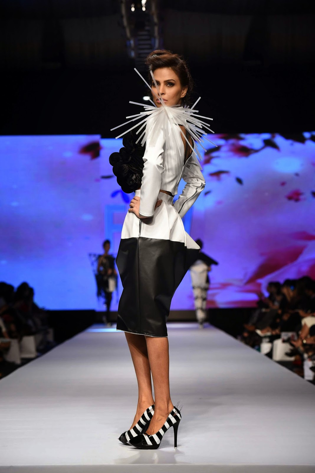 Rimsha Shakir Telenor Fashion Pakistan Week 2015 Day 1