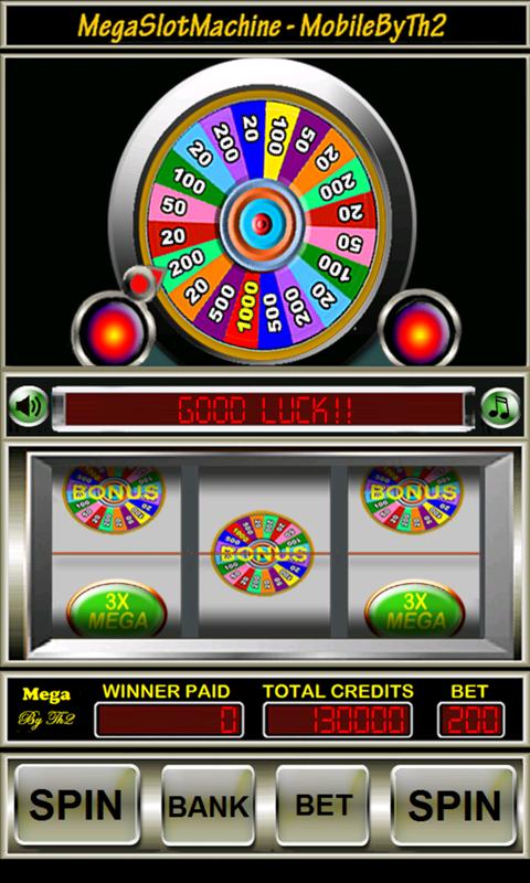 mega million slot machine bank