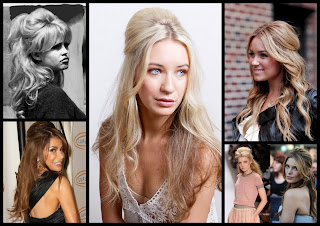 Gaya Rambut Half Up Ala Brigitte Bardot