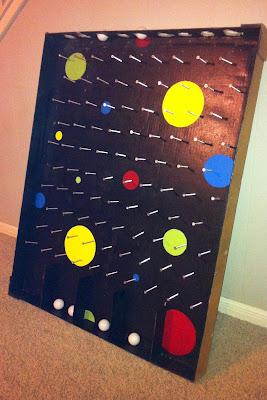Show tell share plinko board for Plinko board dimensions