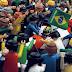 Foto Histórica reproduzida com Playmobil