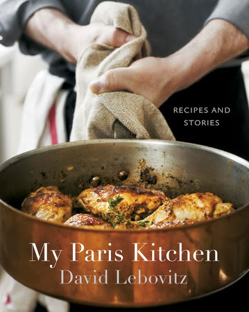 my paris kitchen by david lebovitz book cover