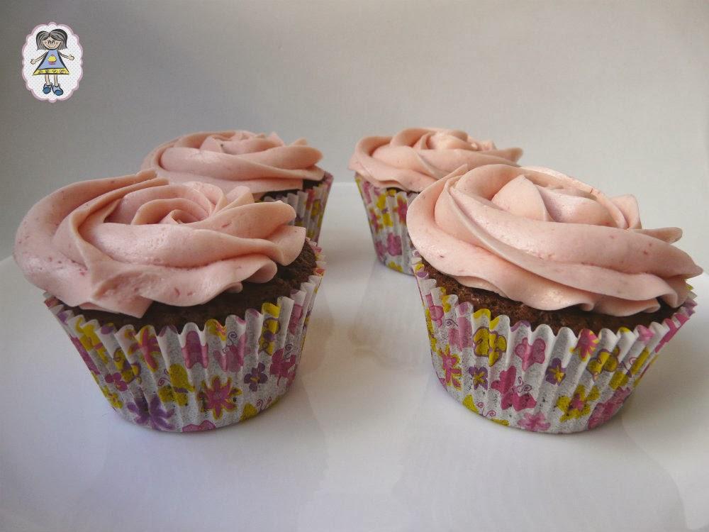 Cupcakes sin gluten del Mundo de Ana