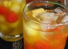 cara membuat, membikin es cocktail buah segar istimewa, enak, lezat