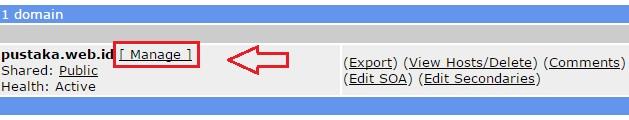 cara merubah domain