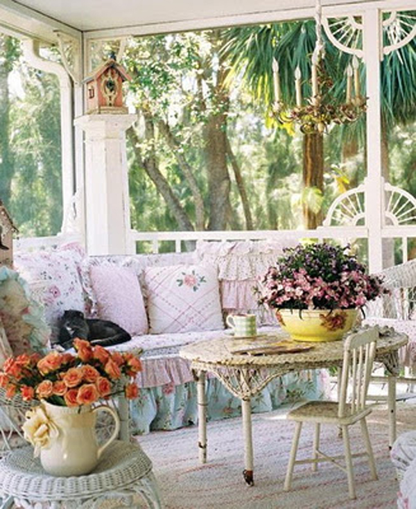 Celebrate and Decorate: Sunday Style - Porches