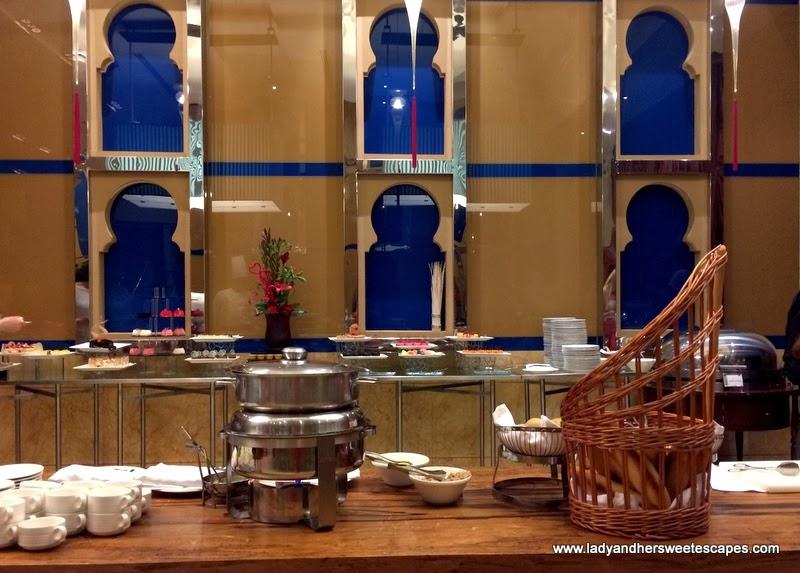Arabesque Cafe's splendid Valentine's buffet