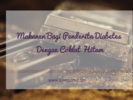 Makanan Bagi Penderita Diabetes Dengan Coklat Hitam