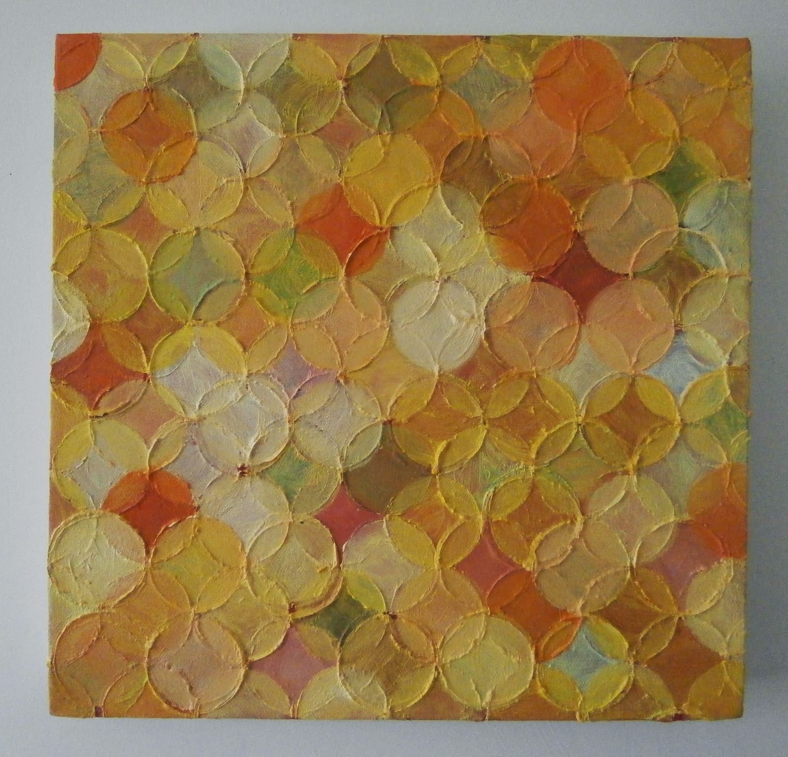 yellow circle painting, kate mackay, art, geometric abstraction, non objective, fire station gallery, dubbo