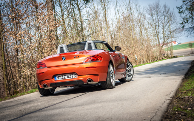 TEST DRIVE: BMW Z4 Roadster