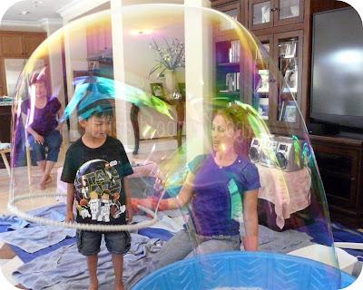 Bubble Birthday Party