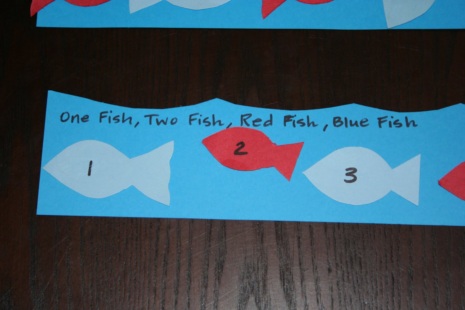 Meadowlarkschool one fish two fish red fish blue fish for One fish two fish red fish blue fish costume