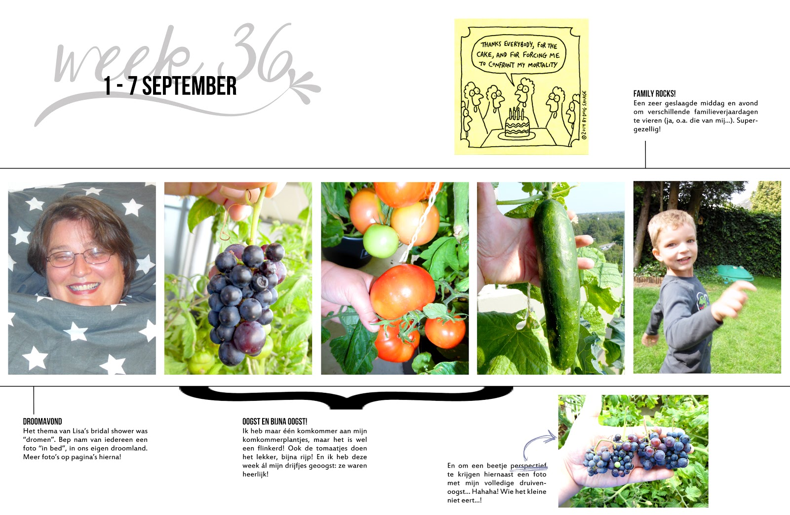 Project Life 2014 Double Page Layout Week 36