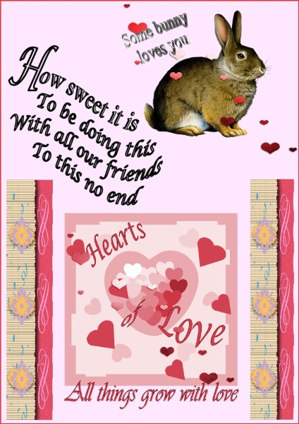 Feb.2016 -  All we need is LOVE ...