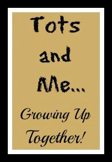 My Tots and Me Button