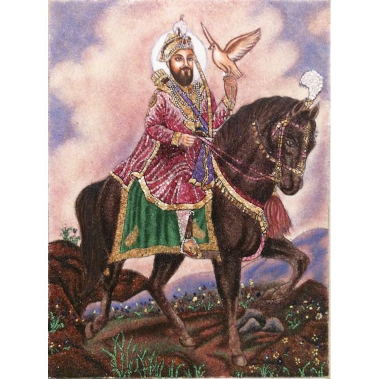 Guru Gobind Singh on Horse Singh Was Art Gallery of Guru Gobind Singh ji